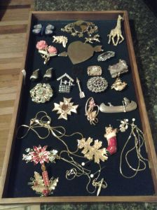 """Here is just a small selection of the vintage items to be offered at """"Bling for Paws""""."""